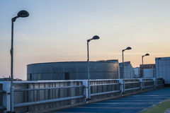 Dessus de toit urbain 2 de ville Image stock
