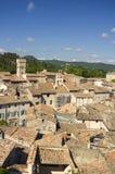 Dessus de toit, Viviers, France image libre de droits