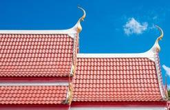 Dessus de toit Wat Photos stock