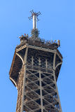 Dessus de Tour Eiffel Image stock