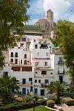 Dessus de villa de Dalt Photos stock