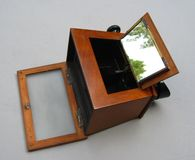 Dessus de visionneuse de Stereoscope Photographie stock
