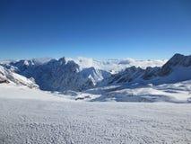 Dessus de Zugspitze de l'Allemagne Image libre de droits