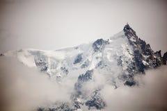 Dessus des montagnes Image libre de droits