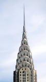 Dessus du bâtiment de Chrysler à New York City photos stock