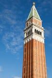 Dessus du campanile photo stock