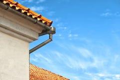 Dessus rouge de toit Photo stock