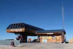 Dessus-station de funiculaire de Chamrousse photographie stock libre de droits