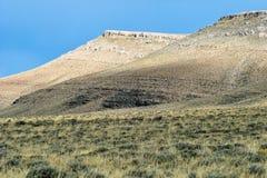 Dessus uniques de montagne Images libres de droits