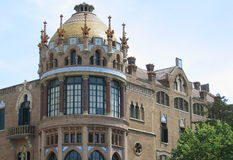Destaque de Barcelona fotografia de stock