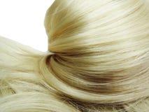 Destaque o fundo da textura do cabelo Fotografia de Stock