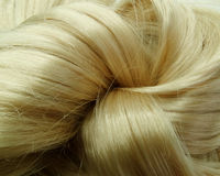 Destaque o fundo da textura do cabelo Imagens de Stock Royalty Free