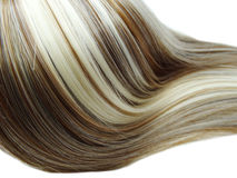 Destaque o fundo da textura do cabelo Fotografia de Stock Royalty Free