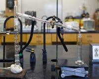 Destilação química Fotografia de Stock Royalty Free