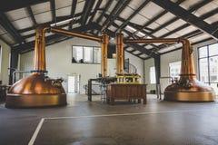 Destilaria do uísque Fotos de Stock Royalty Free