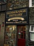 Destilaria Escócia de Glenmorangie foto de stock royalty free