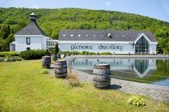 Destilería de Glenora en Nova Scotia, Canadá Imagen de archivo libre de regalías