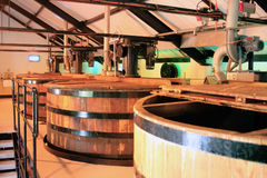 Destilería del whisky Imagen de archivo libre de regalías