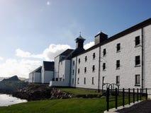 Destilería en Escocia fotografía de archivo libre de regalías