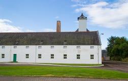 Destilería escocesa fotografía de archivo libre de regalías