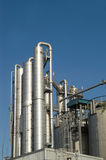 Destillationspalten Stockbilder