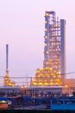 Destillationtorn Arkivbild