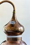 Destillierkolben Stockfoto