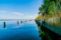 Destin佛罗里达海滩场面 免版税库存照片
