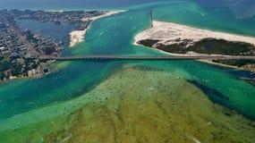 Destin港口在Destin, Forida 免版税库存图片