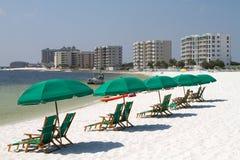 destin пляжа Стоковое Изображение