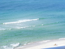 Destin beach wave. Destin is located on Florida's Emerald Coastfine, soft sand .this could be a great destination for you Royalty Free Stock Image