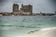 Destin florida beach scenes Stock Photo