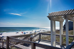 Destin florida beach scenes Stock Photos
