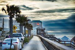 Destin florida beach scenes Royalty Free Stock Photography