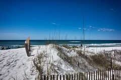 Destin florida beach scenes Royalty Free Stock Images