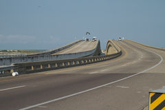 Destin's Bridge. The Brige over Choktawhatchee Bay, Gulf of Mexico royalty free stock photo