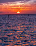 Destin-Sonnenuntergang Lizenzfreie Stockbilder