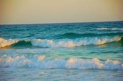 Destin waves. Crashing Royalty Free Stock Photography