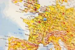 Destinación: París Foto de archivo