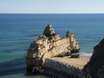 Destination Algarve Lagos Portugal de voyage photographie stock libre de droits