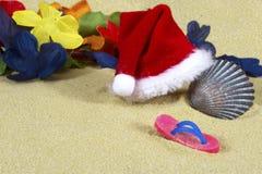 Destination Christmas - Tropical Beach Stock Photography