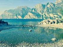 Destination för lopp för landskaphav panorama- royaltyfria bilder