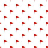 Destination flag pattern seamless. In flat style for any design Stock Photo