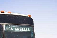 Destination los angeles Royalty Free Stock Images