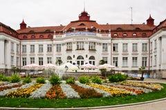 Destination médicale historique de voyage de station thermale, République Tchèque, l'Europe Photos stock