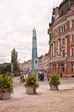 Destination médicale historique de voyage de station thermale, République Tchèque, l'Europe Image libre de droits