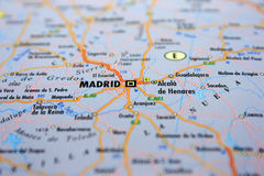 Destination: Madrid. Stock Photography