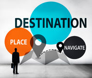 Destination Navigate Exploration Place Travel Concept Stock Photos