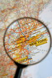 Destination New York. Going to New York for business or pleasure royalty free stock photos