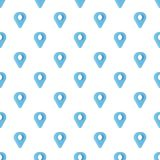Destination pattern seamless. In flat style for any design Royalty Free Stock Photo